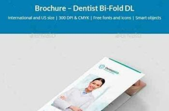 1801012 Brochure – Dentist Bi-Fold DL 21139656 8