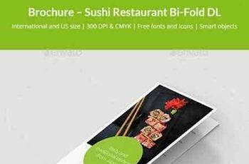 1801013 Brochure – Sushi Restaurant Bi-Fold DL 21139245 6