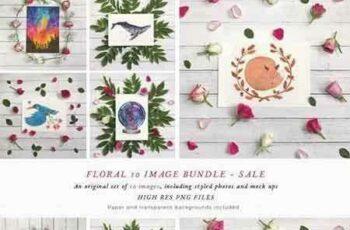 1801014 BUNDLE 10 Floral Mockups 1776354 3