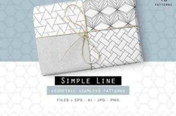 1801036 Simple Line Geometric Patterns 822517 7