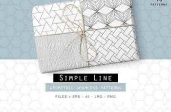 1801036 Simple Line Geometric Patterns 822517 6