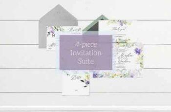 1801050 Purple & Pastel Wedding Invitation 2102924 8