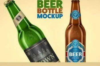 1801059 Beer Bottle Mock-Up 1487299 2