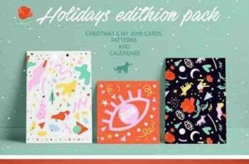 1801088 Holidays edition pack 2018! 2111257 8