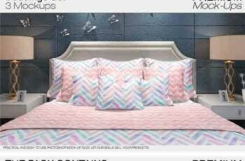 1801096 Bedding Mockup Set 2110916 7