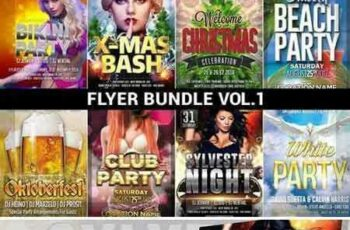 1801108 Flyer Bundle Mega Pack Vol.1 2122288 6