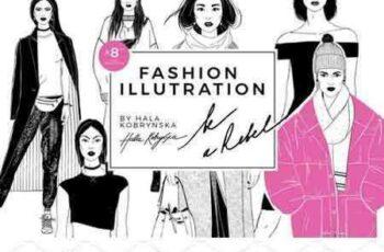 1801117 Set with fashion Illustration 2120730 5