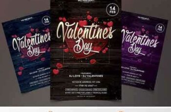 1801120 Valentines Day - PSD Flyer Template 2120058 6