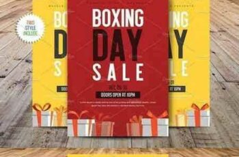 1801171 Boxing Day Sale Flyer Template 2062850 4