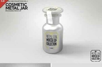 1801183 Cosmetic Metal Jar Mock Up 1928454 7