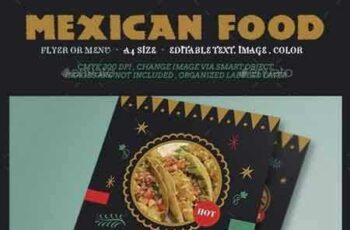 1801189 Mexican Food Flyer Menu 15189419 7