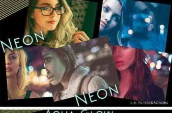 1801215 NEON - Photoshop Actions 2222122 5