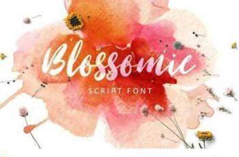 1801236 Blossomie Script Font 2154836