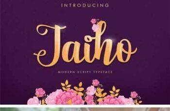1801241 Jaiho Script (Duo Font) 3
