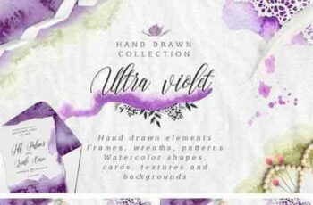 1801247 Ultra Violet Watercolor Collection 2199876 3