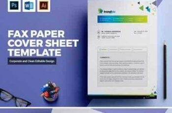 1801253 Fax Paper Cover Sheet Template 2142162 7