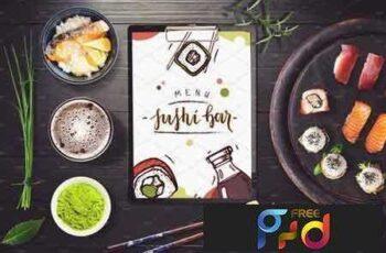 1801272 Sushi Bar Menu Mock-up #3 2103507 6