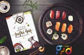 1801273 Sushi Bar Menu Mock-up #4 2103508 7
