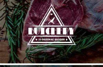 1801287 Set of Meat Shop Logo and Badges 2221996 5