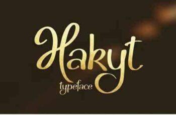1802013 Hakyt Script Font 2167583 4