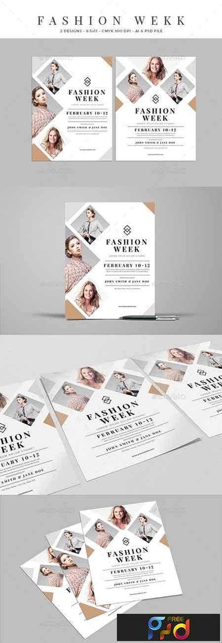 1802034 Clean Fashion Week Event Flyer 21303277 1