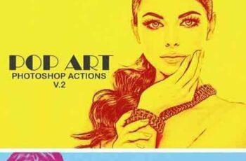 1802046 20 Pop Art Photoshop Actions Ver. 2 2198766 4