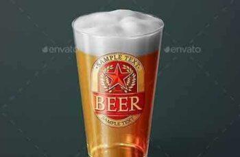 1802048 Beer Glass Mock-up - American Pint 21330837 3