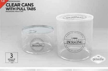 1802054 Clear Cans with Pull Tabs Mock Up 2218686 3