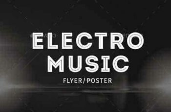 1802056 Electro Musik Flyer & Poster 14526283 4