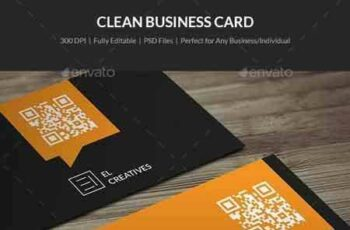 1802059 Clean Business Card - 17 21324654 3