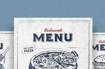 1802069 Vintage Restaurant Menu 14567397