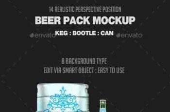 1802072 Beer Pack Mock-Up 21285058