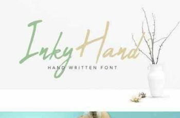 1802076 Inky Hand Scribe - Font 2220166
