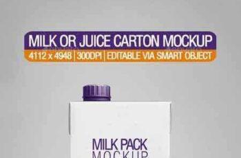 1802077 Milk or Juice Carton Mockup 21278688 6