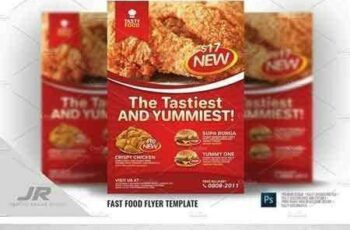 1802090 Fast Food Flyer 1982943 4