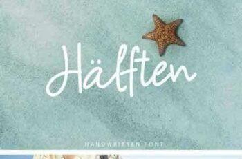 1802092 Halften Handwritten Font 1914774 7