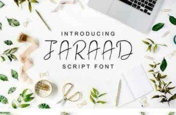 1802093 Jaraad Script 4 Font Family Pack 1496726 3