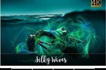 1802095 4K Silky Waves Overlays 1787755 6