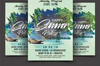 1802107 Summer Party Flyer 2248142