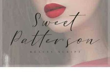 1802119 Sweet Patterson - Beauty Font 1810452 3