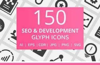 1802121 150 SEO & Development Glyph Icons 2182671 2