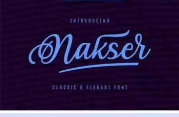 1802125 Nakser - Handwritten Font 2221998 6