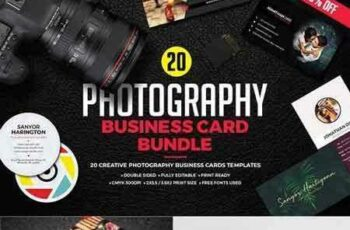 1802140 Photography Business Card Bundle 2247611 7