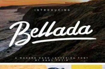 1802147 Bellada Brush Font 21314294 8