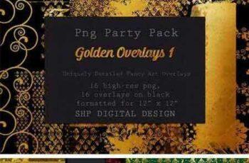 1802150 Fancy Golden Overlays Art Pack 1 2182537 2