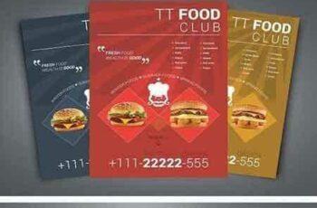 1802152 Fresh Fast Food Flyer 1981655 5