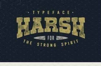 1802154 Harsh Typeface 1981785 5