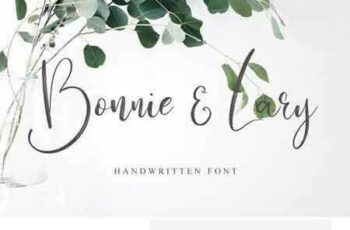 1802168 Bonnie & Lary Script 2220218 2