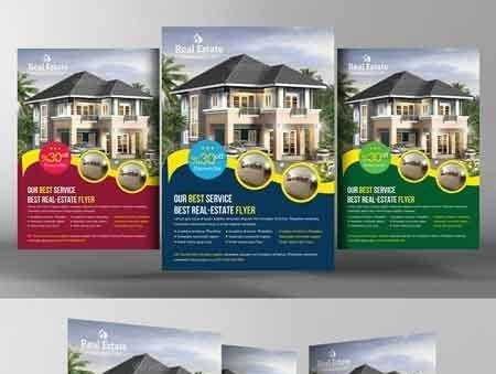 1802181 Real Estate Flyer Template 2246459 Free Download Photoshop