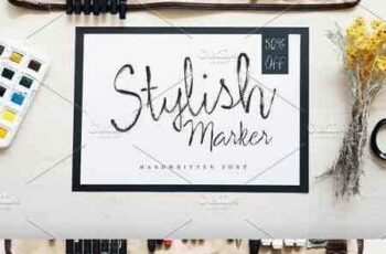 1802184 Stylish Marker Font 2248016 8